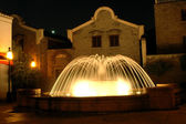 Fountain by night — Stock Photo