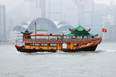 Hongkong antik botu — Stok fotoğraf