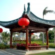 Chinese pavillion in Sanya, Hainan Island — Stock Photo
