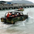 Stock Photo: Chinese amphibious vehicle