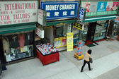 Hongkong typical street — Stock Photo