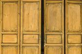 Porta antiga de madeira — Foto Stock