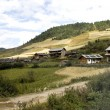 Villages in Yunnan province — Stock Photo
