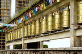 Shangrila - bells in temple — Stock Photo