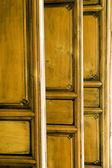 Chinese wooden door — Stock Photo