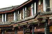 Lijiang - houses in old town — Stock Photo