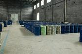 Armazém em fábrica chinesa — Fotografia Stock