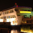 Stock Photo: Chinese vessel by night