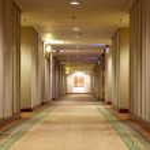Hallway in hotel — Stock Photo #22973158