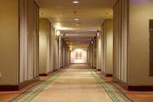 Hallway in hotel — Stock Photo