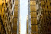 Hongkong skyscrapers — Stock Photo