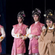 China, Traditional Beijing Opera, guilty woman — Stock Photo