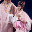 Chinese Opera - marriage couple — Stock Photo