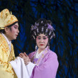 Chinese Opera - worried marriage couple — Stock Photo