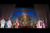 China, Traditional Beijing Opera, stage view — Stock Photo