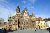 Poland, Wroclaw Town Hall — Stock Photo