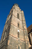 Wroclaw, Poland - church tower — Stock Photo