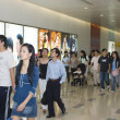 Stock Photo: Labour Holidays in China, shopping crowd