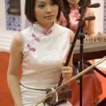 Chinese Culture Fair, Shenzhen - female musicians — Stock Photo #23214526