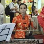 Chinese Culture Fair, Shenzhen - female musicians — Stock Photo #23215446