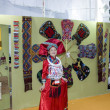 chinese costume - china cultural exhibition — Stock Photo