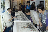 China Culture Exhibiton - chinese paintings — Stock Photo