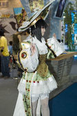 China Culture Fair - anime character costume — Stock Photo