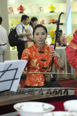 Chinese Culture Fair, Shenzhen - female musicians — Stock Photo