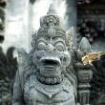 Religious sculpture - Bali Island, Indonesia — Stock Photo #25512347