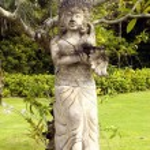 Religious sculpture - Bali Island, Indonesia — Stock Photo #25512905