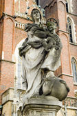 Jesus Mother, sculpture — Stock Photo