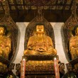 Stock Photo: Shanghai - inside Jade BuddhTemple