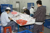 Pregnancy tests factory in China — Stock Photo