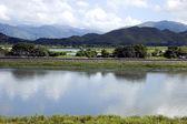 Landscape at Hong Kong China border — Stock Photo