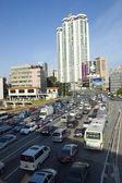 Traffic jams in China — Stock Photo