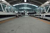 China - fast trains in Guangzhou — Foto de Stock