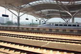 Modern train station in Changsha, China — Stockfoto