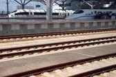 Modern train station in Changsha, China — Stock Photo