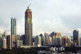 China, Shenzhen city skyscrapers — Stock Photo