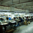 Earphone factory in China — Stock Photo #36062127