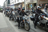 Motorcycle rally in Wroclaw, Poland — Stock Photo