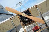 Air show - Bleriot plane replica — Stock Photo