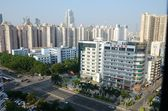 Shenzhen city - Futian district — Stock Photo