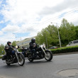 Stock Photo: Super rally - Harley motor parade