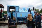 Narrow gauge railway in Poland — Stock Photo