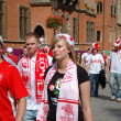 Euro2012 - football fans — Stock Photo