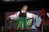 Polish folk dance — Stock Photo