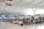 Shenzhen North railway station — Stock Photo