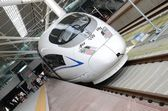Spěšný vlak v číně — Stock fotografie