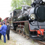 Narrow gauge railway in Poland — Stock Photo #44575195